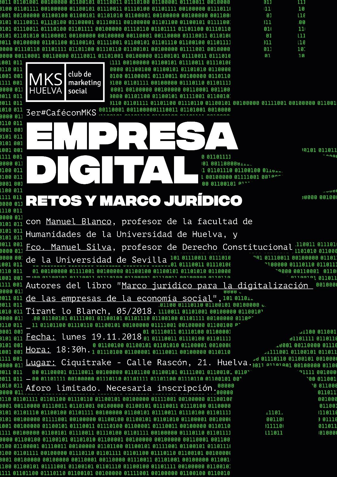 ¡Tómate el 3er #CaféconMKS con nosotros! Reflexionamos sobre la transformación digital de las empresas